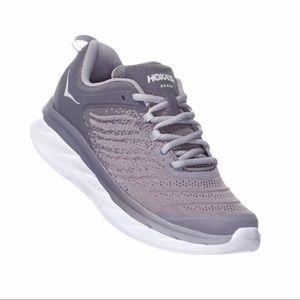 Hoka One Women's Akas Running Shoe Gray Athletic